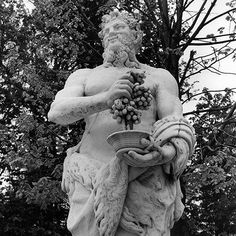 Versailles Garden, Digital Ink, Bacchus, Garden Statues, Places To Travel, Black And White, Artist, Prints, Healthy Living