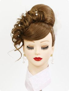 photo Paper Flowers For Kids, Special Occasion Hairstyles, Hair Arrange, Red Hair Color, Black Girls Hairstyles, Pretty Makeup, Fashion Sketches, Wigs, Hair Beauty