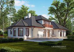 Dom dwupokoleniowy dla dużej rodziny :)   #lk-projekt #lkprojekt #lkproject #projektdomu #projekty #domjednorodzinny  #house #project #beautifulhouse  #homesweethome #design #architecture #polisharchitecture #poddasze #domzpoddaszem