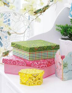 Decorating shoe boxes and tissue papers. Talk to LiveInternet - Russian Service Online Diaries