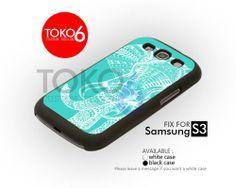 AJ 3663 Tiffany Elephant - Samsung Galaxy S III Case | toko6 - Accessories on ArtFire