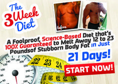 New Research Shows that This Simple 21 Day Plan Burns 12 to 23 Pounds of Fat.