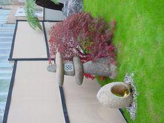Japanese Garden Display at Coolings - The Japanese Garden Centre Garden Centre, Water Features In The Garden, Garden Ornaments, Pathways, Backyard Landscaping, Outdoor Gardens, Garden Design, Zen, Garden Ideas