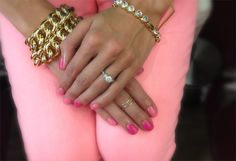 loving the arm candies and nails!