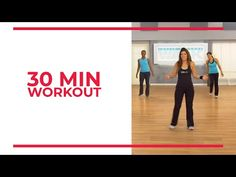30 Minute Workout | At Home Workouts - YouTube Mini Workouts, Short Workouts, Running Workouts, At Home Workouts, Thursday Workout, 30 Min Workout, Plank Workout, Leslie Sansone, Youtube Workout