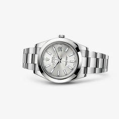 Entdecken Sie die Datejust II Uhr in Edelstahl 904L auf der offiziellen Webseite von Rolex. Modell: 116300