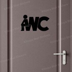 Creative DIY Funny Top Design Toilet Door Sign Sticker 1002