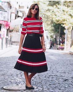 "45fc1129b9  mangooutfits on Instagram  ""Nuestra adicta  modatutkusu luce falda de  mango ❤ ❤  outfitoftheday  outfit  like4like  fashionblogger  fashion   shopping ..."