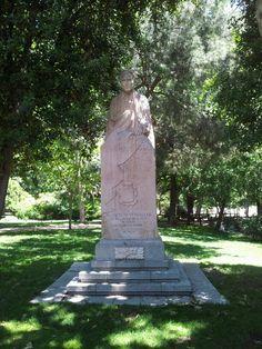 Jacinto Verdaguer. Parque del Retiro