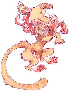 SHIRT - Heraldic Minoan Griffin by TastesLikeAnya.deviantart.com on @deviantART