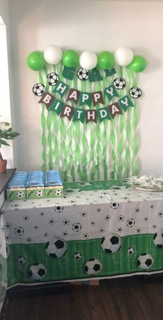 Kids Football Parties, Soccer Birthday Parties, Surprise Birthday, Birthday Diy, 10th Birthday, Kid Birthdays, Diy Gifts, Party Themes, David