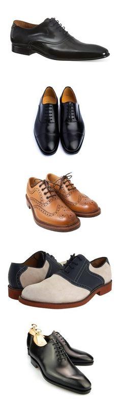 Cinque scarpe alla francesina per l'uomo di classe
