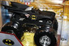 Hot Wheels 2013 Monster Jam Batman Black Includes Crushable Car @ niftywarehouse.com