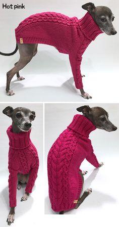 Italian Greyhound apparelhandmade knitwear-5color