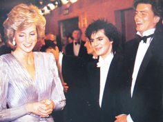 Diana meets her favourite Pop Group Duran Duran