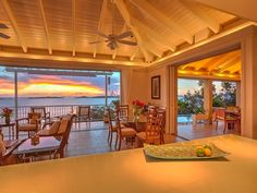 """Under new ownership and management as of July 2015! This lovely St. John home with a Hawaian name certainly lives up to it's moniker. This """"Heavenly Home"""" is a 4 bedroom 3.5 bath with authentic caribbean flair tucked ..."""