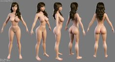 This is a turnaround of the cartoon character I\'ve started working on.Done in Zbrush, rendered in max and hair done using hair-farm.