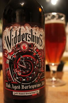 Brewery: Left Hand Brewing, Colorado, US Name: Widdershins ABV: 10% Style: Barely wine Notes: Traditional interpretation. Huge sweet malt and dark fruits with an oak background.  A big beer big on flavour. [9.5] For those that like: Fullers '1845', Marston's 'Owd Roger', Orkney 'Skullsplitter'.
