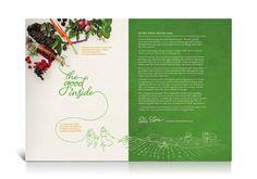 Touchstone Brochure Spread Design
