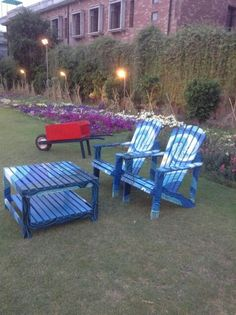 Nice garden and chairs