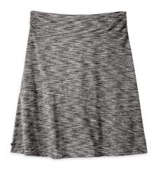 Women's Flyway Skirt Summertime temperatures call for minimal designs and performance fabrics. The Flyway Skirt keeps you cool with its airy wrap design and breathable, wicking drirelease® Cotton space-dye fabric. Perfect for sunny days spent exploring beachside village markets, the skirt's space-dye polyester and cotton blend wicks moisture when the temperature peaks. Outdoor Research