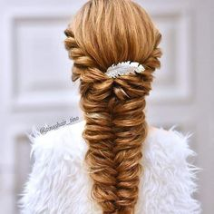 Hair style girl Step By Step for wedding Wedding Hairstyle Images, Wedding Hairstyles, Makeup News, Hair Decorations, Hair Today, All About Fashion, Messy Hairstyles, Bridal Makeup, Insta Makeup