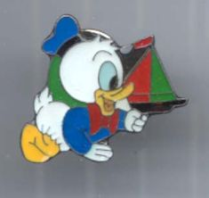 Disney's Donald Duck Baby with Boat Pin