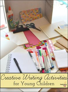 5 easy & fun creative writing activities for young children