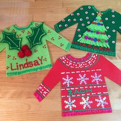 BW Ugly Holiday Sweaters