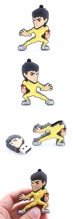Bruce Lee Kung Fu USB Drive  http://www.usbgeek.com/products/bruce-lee-drive