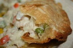 "Deep South Dish: Old Fashioned Chicken Pot Pie.""An old fashioned chicken pot pie, made with a thick & creamy roux & veggies, encased in a flaky double crust. Southern Recipes, Great Recipes, Favorite Recipes, Southern Food, Southern Style, Holiday Recipes, Southern Chicken, Southern Dishes, Southern Comfort"