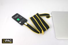 ZiPAC : Cable and Case in One by ZiP. @Kickstarter Inc. : http://kck.st/1b3fCEP