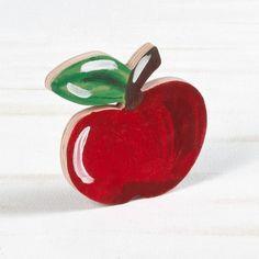 Μπομπονιέρα Βάπτισης Ξύλινο Διακοσμητικό Μήλο Ζωγραφιστό – Χιονάτη – ΕΜ101 Watermelon, Fruit