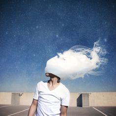 #cloud #guy #smoke