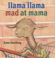 "Anna Dewdney's llama llama books are wonderful for kids of all ages. ""There will be no more llama drama."""