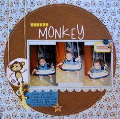 Little Monkey for Paper Secrets (http://papersecrets.friendhood.net/forum) SYAO1 Challenge #61.