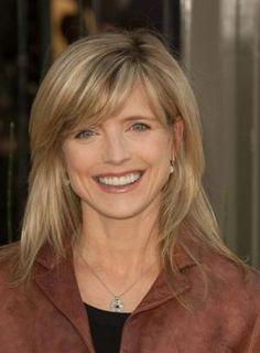 the best blonde highllights women over 50 | Haircuts for medium hair with side bangs and layers