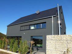 Faszination Haus – Passivhaus in Kleinkarlbach : ausgefallene Häuser von Architekturbüro für Passiv- und Energieplushäuser