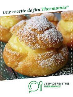 Képviselő muffin a legújabb őrület! Íme a recept! Custard Desserts, Thermomix Desserts, Eclairs, Beignets, Doughnut, Crockpot Recipes, Cake Recipes, Biscuits, Muffin