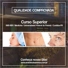 Conheça nosso site: www.anacletobassetto.com.br #hospital #cirurgiaplastica