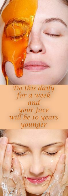 Get rid of saggy skin overnight... use this technique and your face will be 10 years younger #skincare