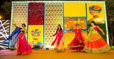 Colorful mehendi sangeet wedding photography Ahmedabad Wedding Couple Poses Photography, Indian Wedding Photography, Mehendi Photography, Wedding Photo Props, Wedding Photos, Wedding Ideas, Wedding Stuff, Wedding Inspiration, Ladies Sangeet