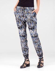 Pantalone sarouel africano