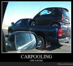 CARPOOLING | Demotivational Posters @Amber Allen is it bad I immediately thought of mark and Kevin