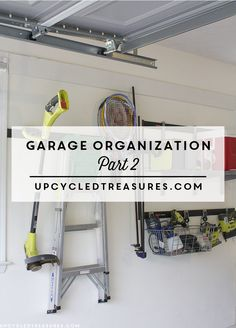 Garage Organization - How we transformed our disaster of a garage back into a useable space worthy of DIY projects.