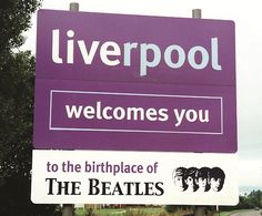 The Beatles♥♥- Liverpool is an awesome place. Great Bands, Cool Bands, Wales, Liverpool Town, Liverpool England, Beatles Love, The Fab Four, England And Scotland, Film Serie