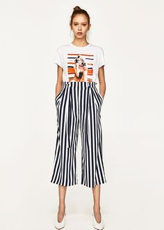 Zara for July: Zara culottes