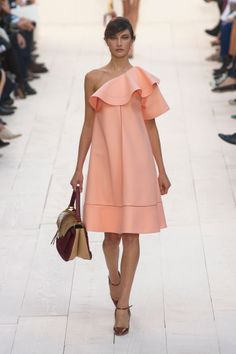 Chloé Spring 2013 ... jackie o/audrey hepburn meets carrie bradshaw in the streets of paris (s is silent).  peach dress ...