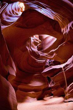 'Earthly Organs' ~ photography by Floris van Breugel ~ Antelope Canyon, AZ