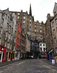 Victoria Street, Edinburgh. #thisisedinburgh